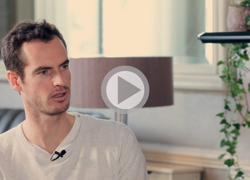 Andy Murray and Brent Hoberman in conversation